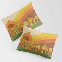 Groovy Mushrooms Pillow Sham