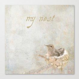 my nest Canvas Print