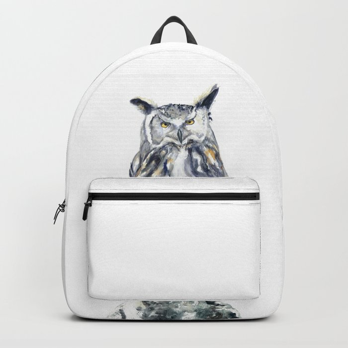 A Serious Owl Backpack