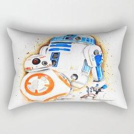 R2d2&BB8 Rectangular Pillow