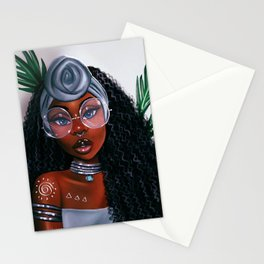 Fleur Noire Stationery Cards