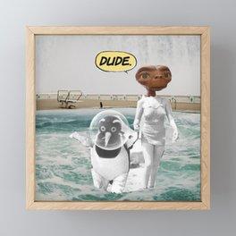 _DUDE Framed Mini Art Print