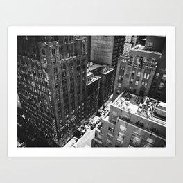Vertigo, NYC.  Art Print