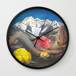 Childbirth camp Wall Clock