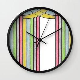 Draped II Wall Clock