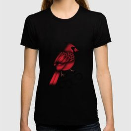 Cardinal and knuckle duster T-shirt