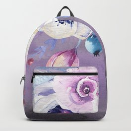 Flowers bouquet #56 Backpack