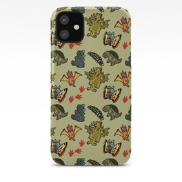 Kaiju Party iPhone Case