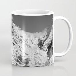 Mt. Blanc with cloud. Coffee Mug