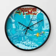 Adventure Time! Wall Clock