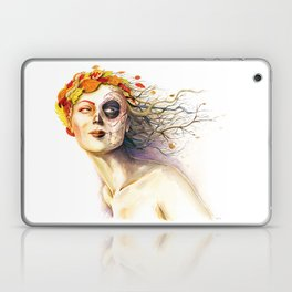 Lady Autumn Laptop & iPad Skin