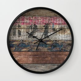 Day In Day Out Wall Clock