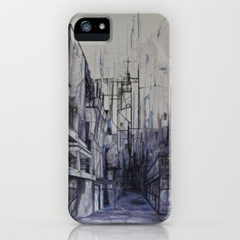 Invisible city iPhone Case