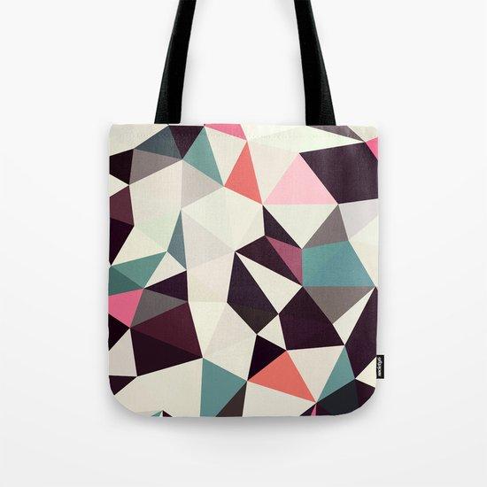 Retro Tris Light Tote Bag