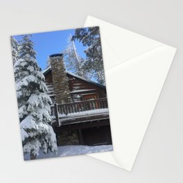 Mammoth Lakes Christmas Stationery Cards