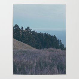 Mountain Side Views Poster