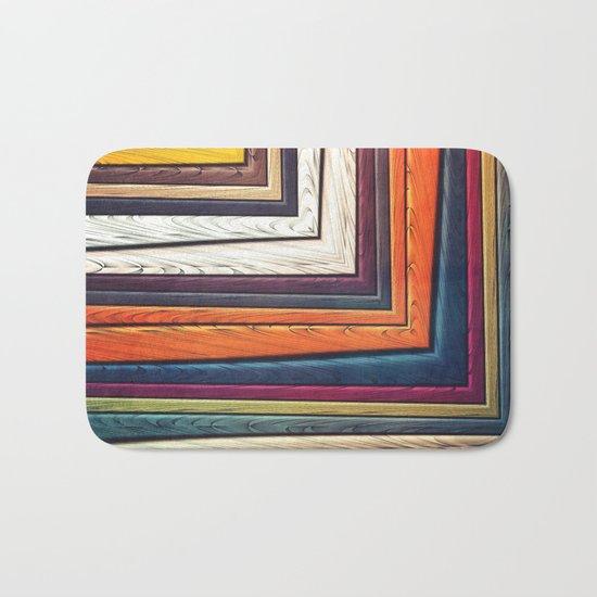 Geometric/Abstract V Bath Mat