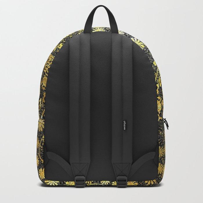Gold Tiled Sugar Skulls Backpack