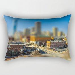 Downtown OKC by Monique Ortman Rectangular Pillow