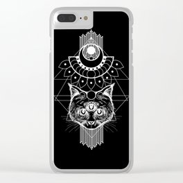All Hail Meow Clear iPhone Case