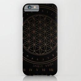 Shadow | Higher Dimensional Spirit Board (Ouija)  iPhone Case