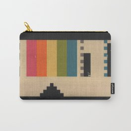 VHS Pixels Carry-All Pouch