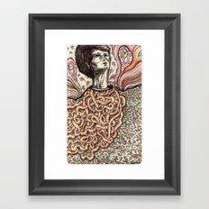 Entrails Framed Art Print
