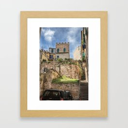 Via Cesare De Lollis Framed Art Print