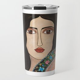 Spanish Woman Travel Mug