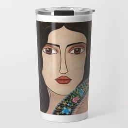 Spanish Woman Travel Mug