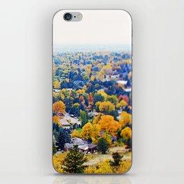 miles of trees iPhone Skin