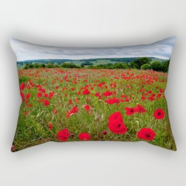 Poppy Field Rectangular Pillow