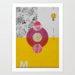 She's a maniac Art Print