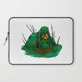 Bigfoot  creeping in swamp Laptop Sleeve