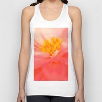 dahlia Tank Tops featuring Dahlia by chantal & james photography