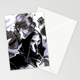 Tracer and Reaper Stationery Cards