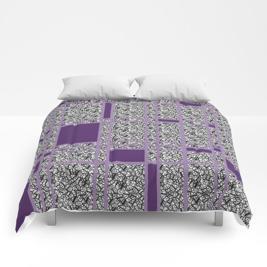 Plaid-ish Comforters