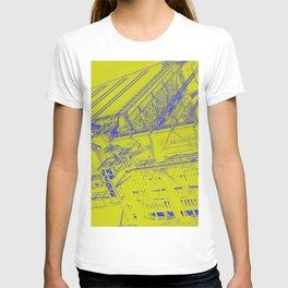 Manhattan Bridge - Green T-shirt