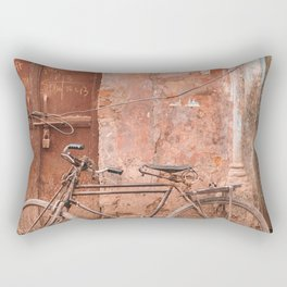 Tangled up in Red Rectangular Pillow