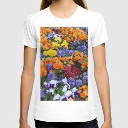 Pancy Flower 2 T-shirt