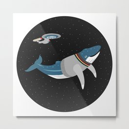 Whalesley Crusher Metal Print