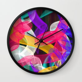 Bam Squiggle Wall Clock
