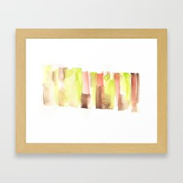 [161228] 23. Abstract Watercolour Color Study|Watercolor Brush Stroke Framed Art Print