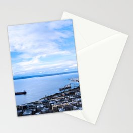 On a Clear Day, You Can See Forever Stationery Cards