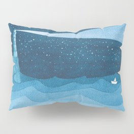 Lighthouse illustration Pillow Sham
