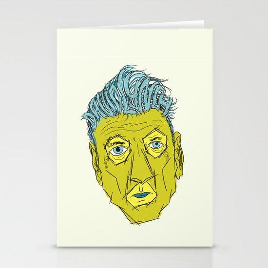 DAVID LYNCH AGAIN Stationery Cards
