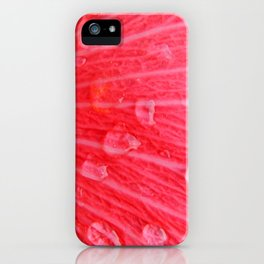 Pink Rain iPhone Case