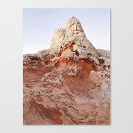 White Pocket Tower Canvas Print