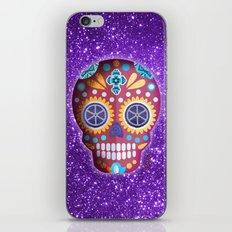 Magenta Skull iPhone & iPod Skin