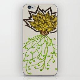 Yellow Lotus iPhone Skin